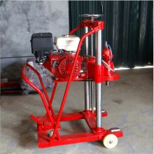 Road drilling rig machine with Honda engine
