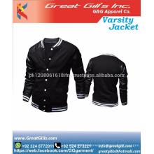 Casual Style Man Fashion Varsity Jacket