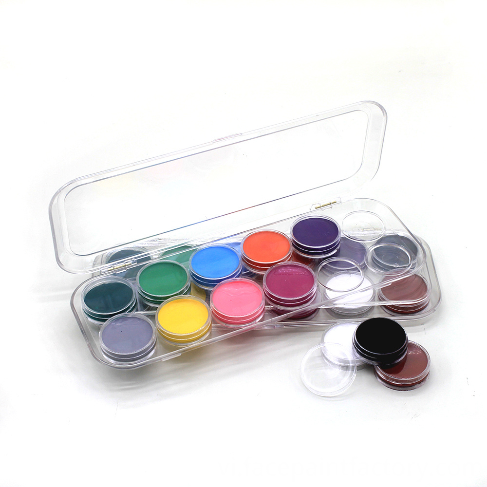 Face Painting Kit 12 Colors