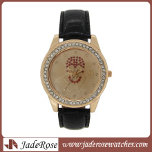 Reloj de moda Bling Bling Elegant Lady Quartz
