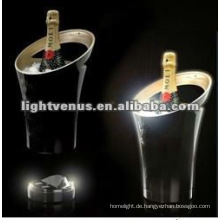 LED blinkt Champagner Eimer