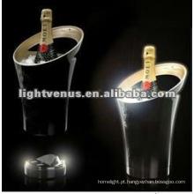 LED piscando balde de champanhe