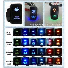 12 V IP68 Marke Auto / Boot Laser Graviert Wippschalter