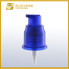 Plastic cosmetic lotion pump