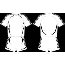 Fournisseur de maillot de baseball en blanc personnalisé
