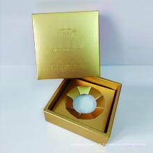 Caixa de embalagem de joias com logotipo personalizado