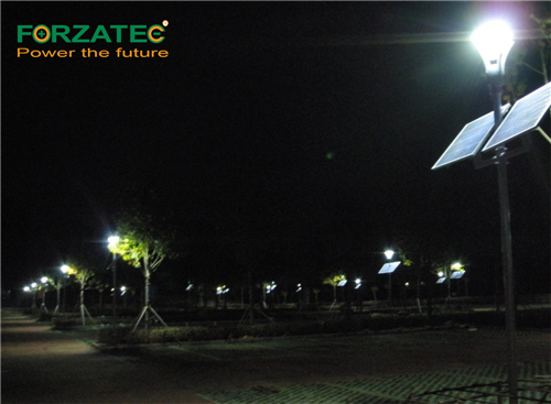 li-battery solar street light