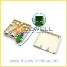 SC  and RJ45 Fiber Optic Socket