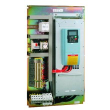 Frequency inverter for various cranes