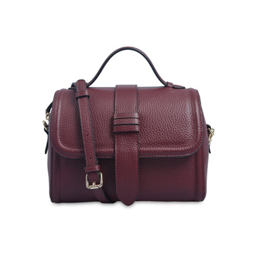 Felt Smooth Premium Nappa Leather Bag Bolsa de trabajo
