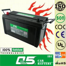 JIS-105E41 12V105AH Libre de mantenimiento para batería de automóvil
