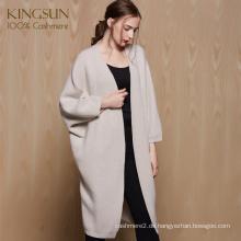 Custom Design Reine Kaschmir Frauen Strickjacke Wunderbare Gestrickte Pullover für Winter 2017