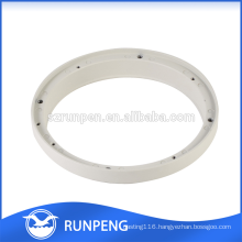 Die Casting Powder Coating Finished CCTV Camera Housing Ring Parts