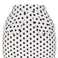 Grace Karin Occident Frauen Hüften-Wrapped Vintage Retro Baumwolle Polka Dots Rock CL008928-9