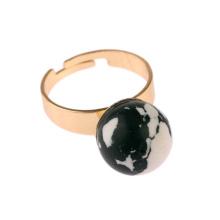 Elegante anillo turquesa de joyería personalizada