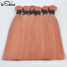 100% Unprocessed European Russian Virgin Remy Human Hair Extensionor Bulk Brazilian Hair Manufacturer