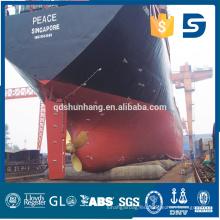 Barco de goma flotante de goma modificado para requisitos particulares del transporte del barco del naufragio del tamaño personalizado