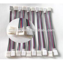 10 PCS 4PIN RGB Conector Fio De Cabo Para 3528 5050 SMD LED Strip Masculino & Feminino