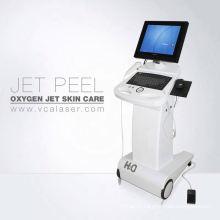 2018 plus populaire! peau d'oxygène, machine de pelage de jet d'oxygène, machine faciale de l'oxygène de l'eau (CE)