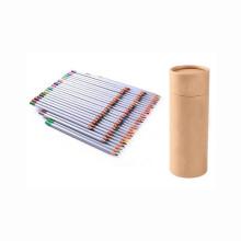 Logotipo personalizado OEM 72 unids lápiz de color de madera