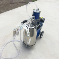 SS304 bucket milking machine easy for storage