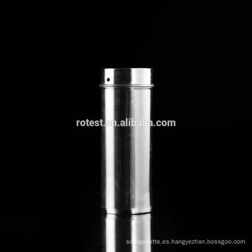 recipiente del cilindro de las placas de Petri del acero inoxidable