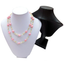 PU Leatherette MDF Jewelry Necklace Model Wholesale (NS-WL-Y)