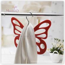 Cintre en plastique de beaux vêtements en forme de papillon de pp (29.5 * 24cm)