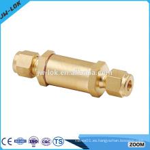 Válvula de filtro de latón manual de aire comprimido