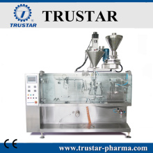 Automatic horizontal powder packing machine