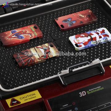Telefon Fall Druckmaschine, 3D Sublimation-Vakuum-Maschine mit CE-Zertifikat