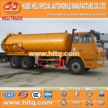 SHACMAN AOLONG 6x4 16000L Abwasser Drainage LKW heißen Verkauf