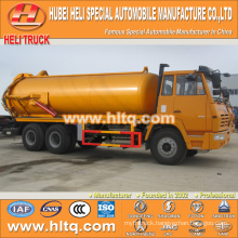 SHACMAN AOLONG 6x4 16000L sewage truck with vacuum pump hot sale