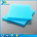 China guter Lieferant schnelle Lieferung 10mm Gewächshaus verstärkte Polycarbonat-Blatt