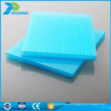 Высокое качество 10 лет гарантии UV защищенное устройство с полыми четыре стены ПК листов