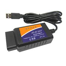 OBD/Obdii сканера ВЯЗ 327 автомобилей диагностического сканера Elm327 USB диагностики Obdii сканера Elm327 USB интерфейс