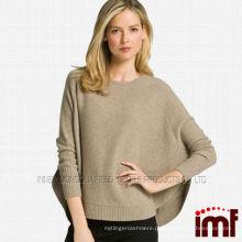 Moda Senhoras Atacado Knitted Pure Poncho Cashmere
