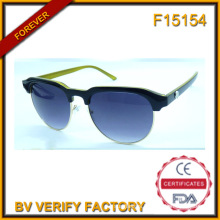 F15145 High Quality New Design Circle Frame Sun Glasses