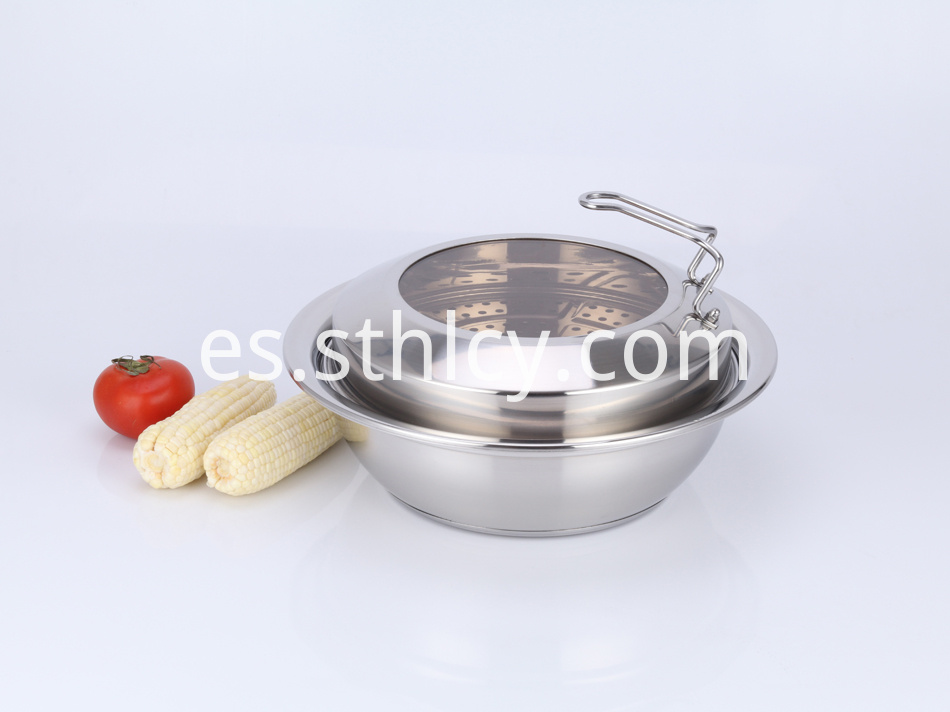 Stainless Steel Pot Camping