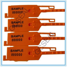 GC-P004 dentado selo plástico de segurança