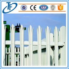 PVC-überzogener Palisadenzaun