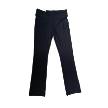 Wir Polo Sportwear Lange Hosen, Yoga Wear Pants, stricken Sportwear, Nylon Spandex Bekleidung