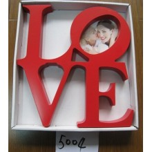 Red Love Photo Frame For Gift