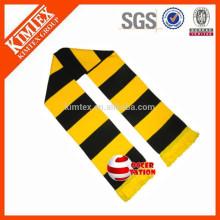 Custom gestrickte Acryl Football Club Bar Schals
