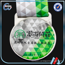 OEM-Druck benutzerdefinierte Medaille mit Band