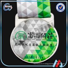 Médaille personnalisée d'impression OEM avec ruban