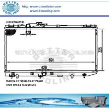 Günstige Auto-Kühler für Toyota Tercel 91-94 / Paseo 96-97 MT OEM: 1640011530