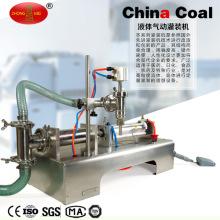Machine pneumatique de remplissage de table de boisson non alcoolisée liquide de la tête 50-5000ml