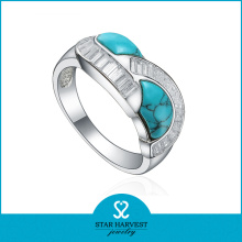Fine Quality Silver Ring with Turquoise Stone