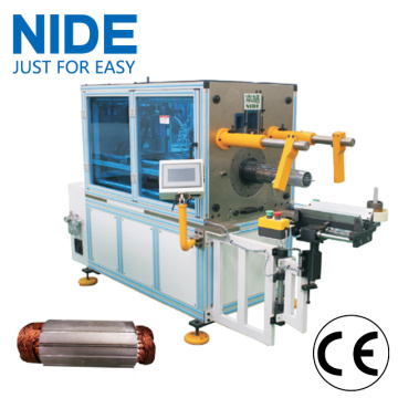 Auto motor stator coil inserter winding insertion machine